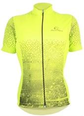 Camisa Ciclismo Feminina Mauro Ribeiro Agile Neon