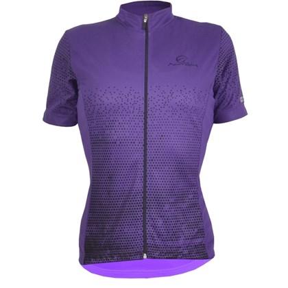 Camisa Ciclismo Feminina Mauro Ribeiro Agile Roxa