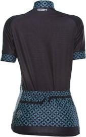 Camisa Ciclismo Feminina Mauro Ribeiro Bella Azul