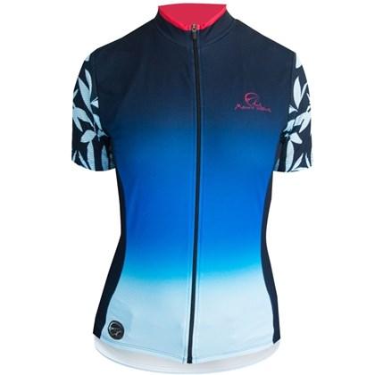 Camisa Ciclismo Feminina Mauro Ribeiro Caribe Azul