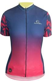 Camisa Ciclismo Feminina Mauro Ribeiro Caribe Vermelha