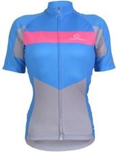 Camisa Ciclismo Feminina Mauro Ribeiro Marsala Azul