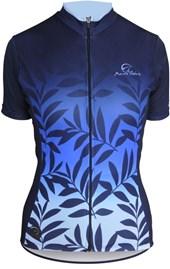 Camisa Ciclismo Feminina Mauro Ribeiro Nature Azul
