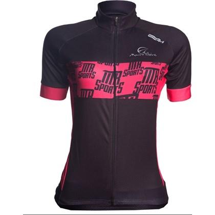 Camisa Ciclismo Feminina Mauro Ribeiro Raport Preta