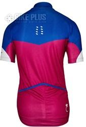 Camisa Ciclismo Feminina Scott Endurance 10 2016 Azul Rosa