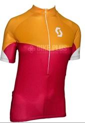 Camisa Ciclismo Feminina Scott Endurance 10 2016 Laranja e Rosa