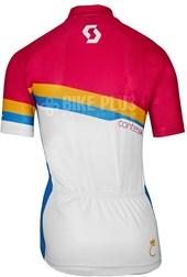 Camisa Ciclismo Feminina Scott Endurance 20 2016 Rosa e Azul