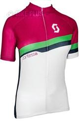 Camisa Ciclismo Feminina Scott Endurance 20 2016 Rosa Verde