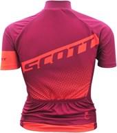 Camisa Ciclismo Feminina Scott Endurance 40 2017 Violeta e Laranja