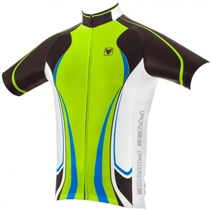 Camisa Ciclismo Free Force Fate Verde