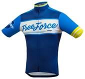 Camisa Ciclismo Free Force Old School Azul Marinho