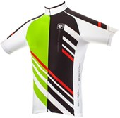 Camisa Ciclismo Free Force Stripes Verde