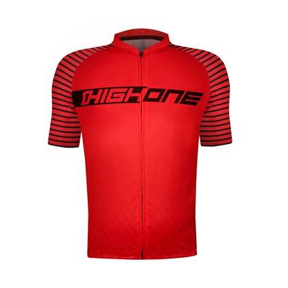 Camisa Ciclismo High One Atack Vermelha