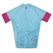 Camisa Ciclismo Infantil High One Piccolo Verde Água e Rosa