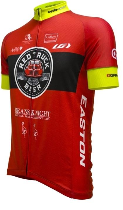 Camisa Ciclismo Louis Garneau Aero 2017 Vermelha