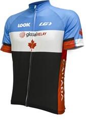 Camisa Ciclismo Louis Garneau Equipe Pro Réplica Canadá