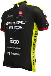 Camisa Ciclismo Louis Garneau Equipe Pro Réplica Québecor