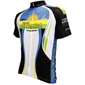 Camisa Ciclismo Louis Garneau Equipe Pro Réplica Rwanda