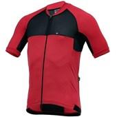Camisa Ciclismo Marcio May Elite Vermelha e Preta
