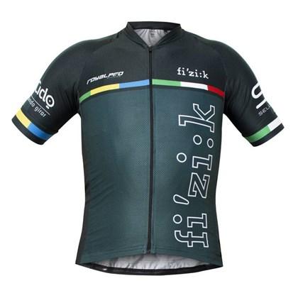 Camisa Ciclismo Marcio May Royalpro Fizik Crankbrothers