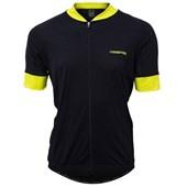 Camisa Ciclismo Marcio May Sport Preto e Amarelo