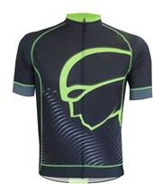 Camisa Ciclismo Mauro Ribeiro Authentic Preta e Verde Flúor