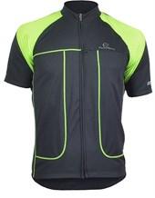 Camisa Ciclismo Mauro Ribeiro Essence Preta e Verde