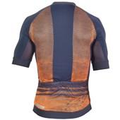 Camisa Ciclismo Mauro Ribeiro Optic Laranja