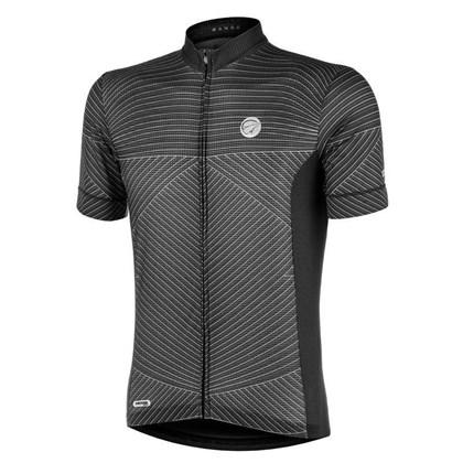 Camisa Ciclismo Mauro Ribeiro Range Cinza e Preta