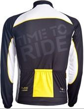 Camisa Ciclismo Mauro Ribeiro Ride Manga Longa Amarela
