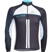 Camisa Ciclismo Mauro Ribeiro Ride Manga Longa Azul