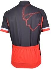 Camisa Ciclismo Mauro Ribeiro Wind Preta e Vermelha