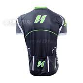 ... Camisa Ciclismo Refactor High One Preta e Verde b7575996ea56c