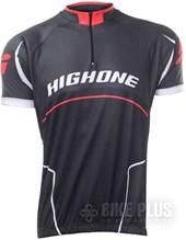 Camisa Ciclismo Refactor High One Preta e Vermelha
