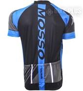 Camisa Ciclismo Refactor Mosso Cinza e Azul