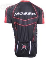 Camisa Ciclismo Refactor Mosso Preta e Vermelha