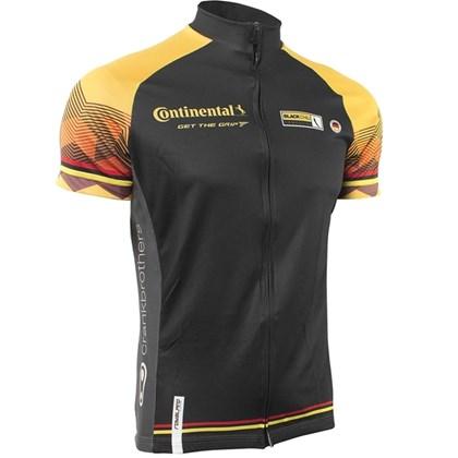 Camisa Ciclismo Royalpro Continental 2016 Preta Amarela