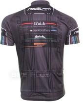 Camisa Ciclismo Royalpro Team Logos Preta