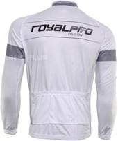 Camisa Ciclismo Royalpro Team Manga Longa Branca