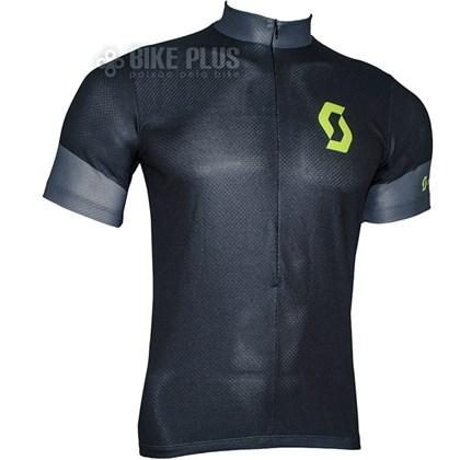 Camisa Ciclismo Scott Endurance 2016 Preta