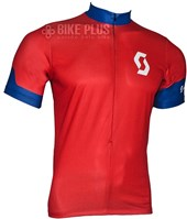 Camisa Ciclismo Scott Endurance 2016 Vermelha