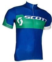 Camisa Ciclismo Scott Endurance Plus 2016 Azul e Verde