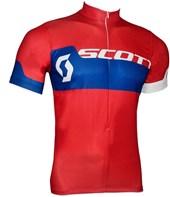 Camisa Ciclismo Scott Endurance Plus 2016 Vermelha e Azul