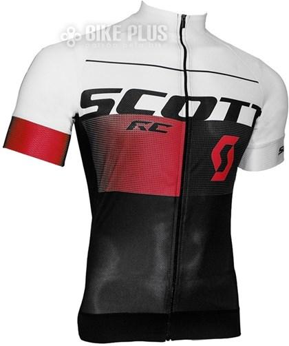 Camisa Ciclismo Scott RC Pro 2016 Branca Vermelha