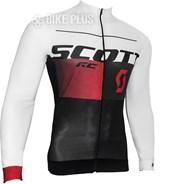 Camisa Ciclismo Scott RC Pro 2016 Manga Longa Preta Vermelha