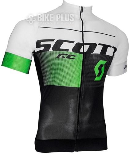 Camisa Ciclismo Scott RC Pro 2016 Preta Verde