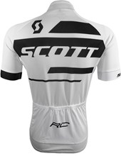 Camisa Ciclismo Scott RC Team 10 2017 Branca