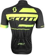 Camisa Ciclismo Scott RC Team 10 2017 Preta e Neon