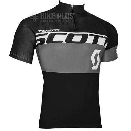 Camisa Ciclismo Scott RC Team 2016 Preta Cinza