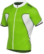 Camisa ciclismo spiuk anatomic verde